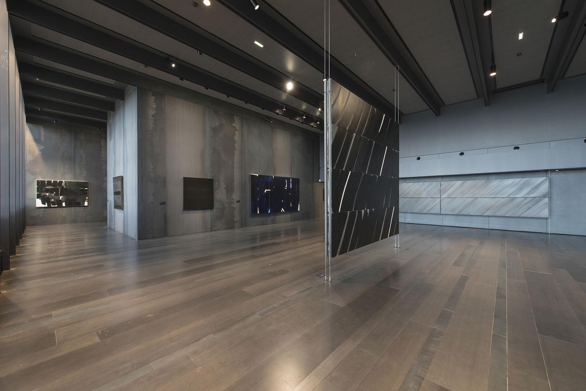 mus e soulages maffre architectural workshop. Black Bedroom Furniture Sets. Home Design Ideas